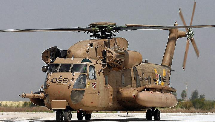 Вертолет S-65C-3 (CH-53D) ВВС Израиля.