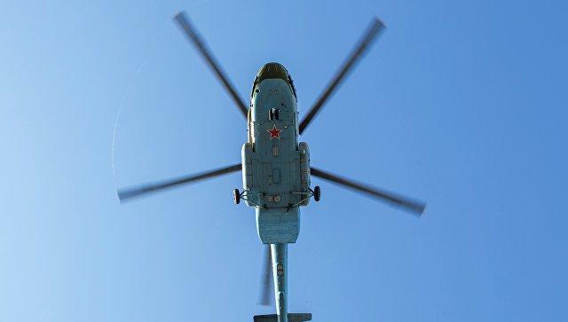 Вертолет ВВС России Ми-8МТ. Архивное фото.