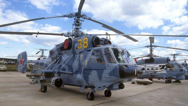 Вертолеты Ка-32