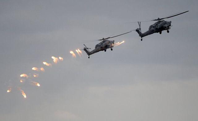 Вертолеты Ми-28 ВКС