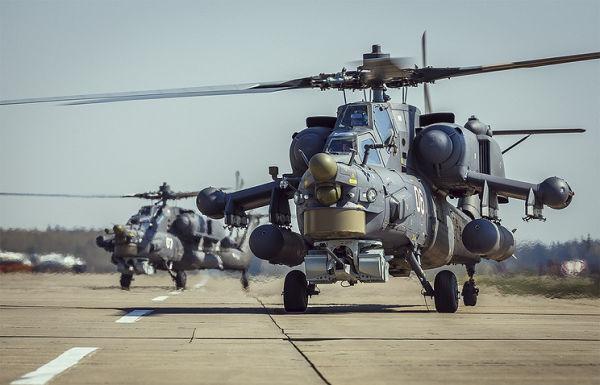 Вертолеты Ми-28Н