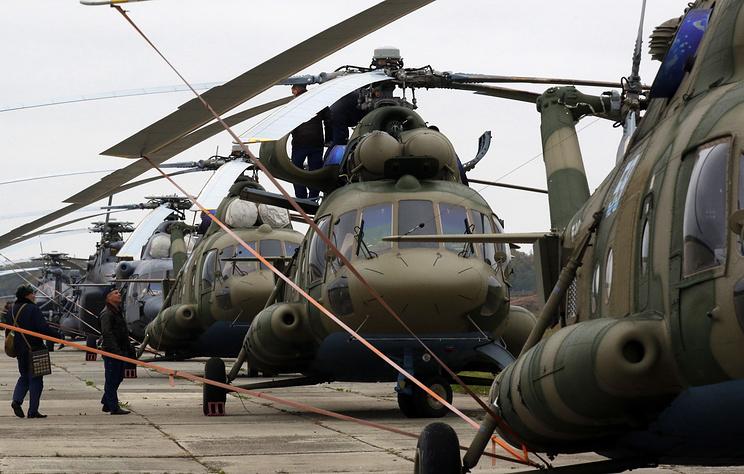 Вертолеты Ми-8МТВ-5.