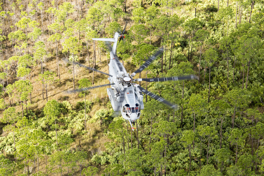 Вертолёт CH-53K King Stallion.