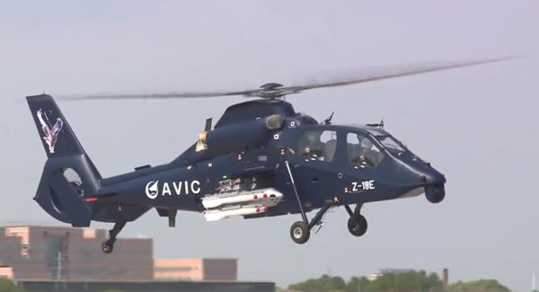 Вертолёт Harbin Z-19E.