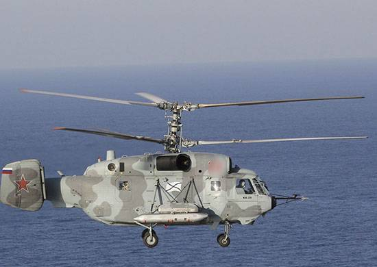 Вертолет Ка-29.