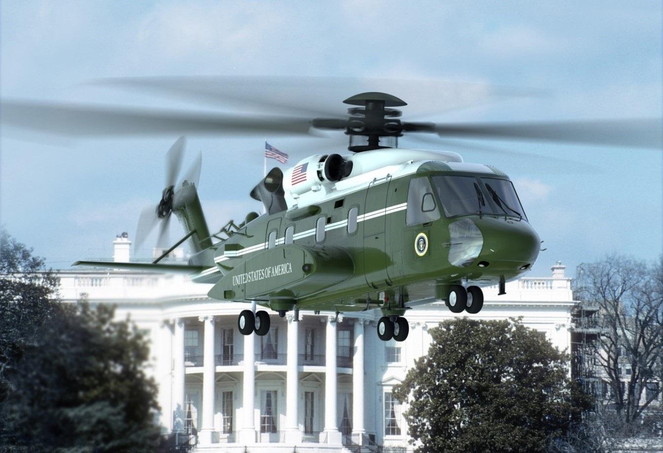 Графическое изображение создаваемого вертолета Lockheed Martin (Sikorsky) VH-92A для перевозки президента США.