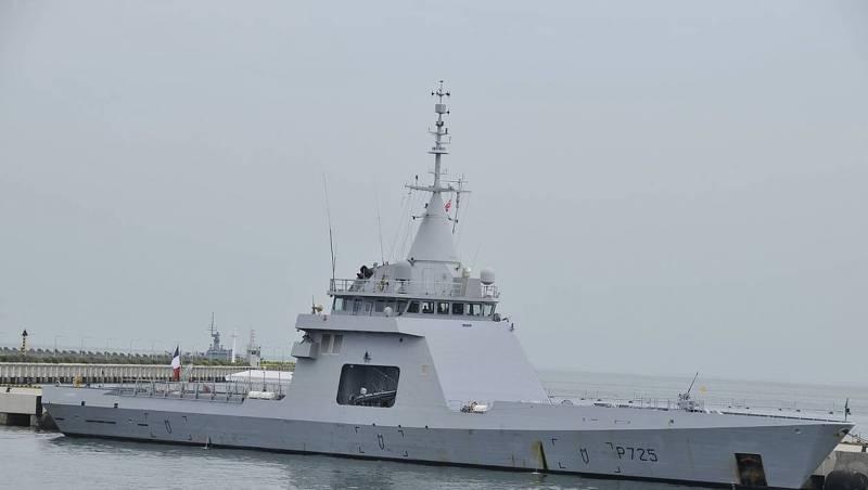 Входящий сейчас в состав ВМС Франции патрульный корабль Р 725 L'Adroit типа Gowind, планируемый к приобретению Аргентиной.