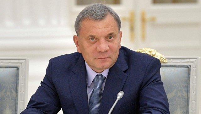 Вице-премьер России Юрий Борисов.