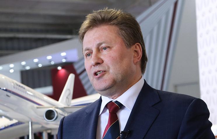 Вице-президент по инновациям ОАК Сергей Коротков.