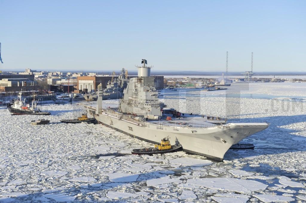 Авианосец «Викрамадитья». Источник www.militaryparitet.com