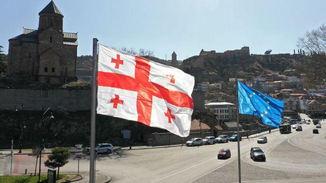 Вид на Тбилиси