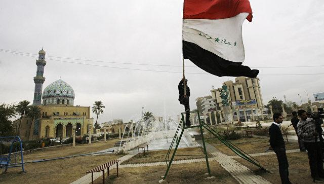 Вид Багдада.