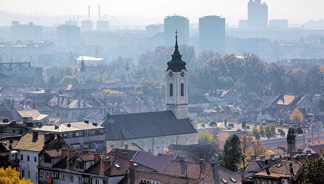 Вид на Белград, Сербия. Архивное фото