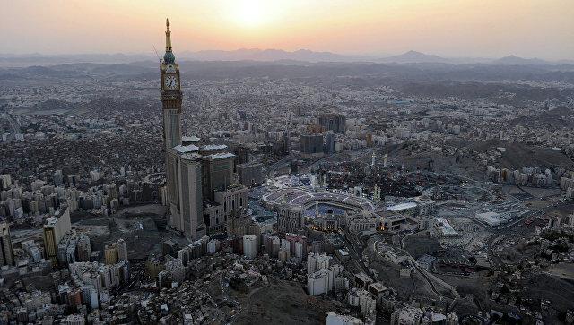 Вид на Мекку, Саудовская Аравия. Архивное фото.