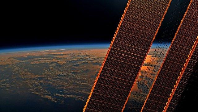 Вид на Землю с борта МКС. Архивное фото.