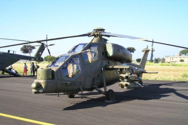 Турецкий вертолет Т129 АТАК