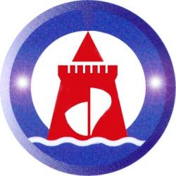 Логотип ОАО КБ по проектированию судов «Вымпел».
