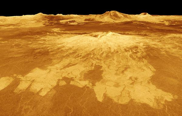 Визуализация поверхности Венеры