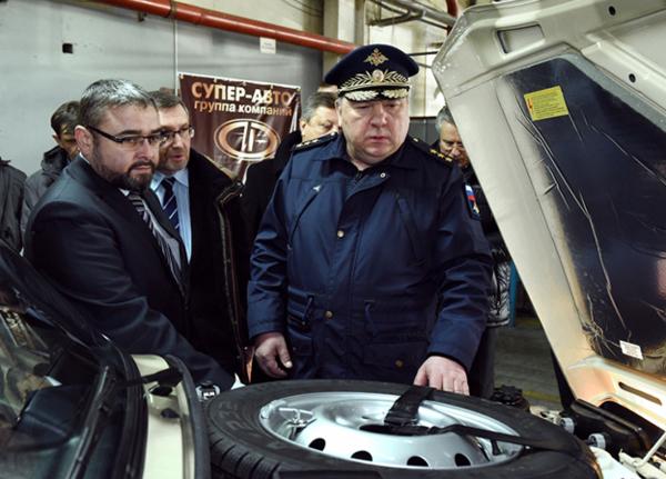 Владимир Шаманов на АВТОВАЗе.