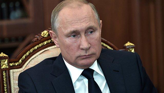 Владимир Путин. 25 июня 2018.