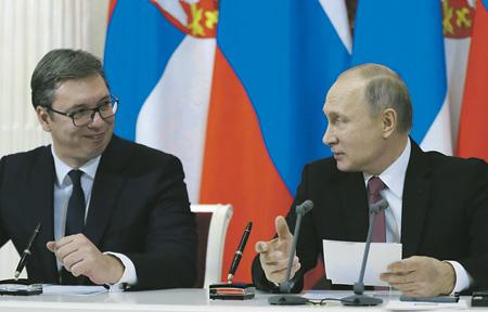 Президенты Владимир Путин и Александр Вучич планируют вывести российско-сербские отношения на новый уровень.