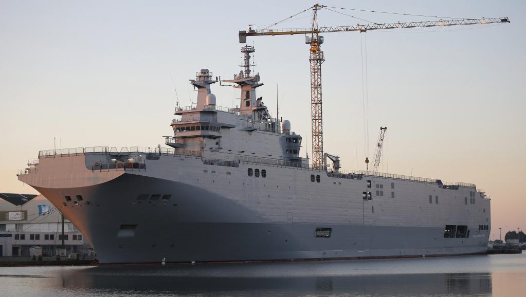 «Владивосток», первых из двух вертолетоносцев «Мистраль», 4 сентября 2014