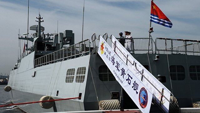 ВМС Китая. Архивное фото.