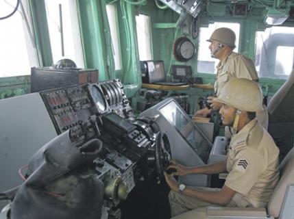 Королевство Саудовская Аравия все-таки приморская страна, поэтому моряки здесь уважаемая профессия.