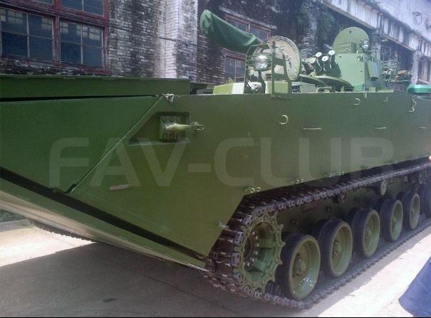 Изготовленный для Венесуэлы образец боевой машины морской пехоты VN-18 - экспортного варианта китайской машины ZBD05. Снимок, сделан, предположительно, на китайском предприятии-изготовителе Jianglu Machinery and Electronics Group в Ханьяне (провинция Хунань).
