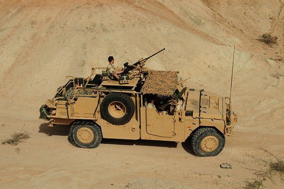 Внедорожник PLFS французского спецназа производства Renault Trucks Defense.