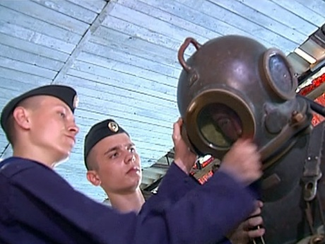Школа военных водолазов в Севастополе. Источник: www.1tv.ru.