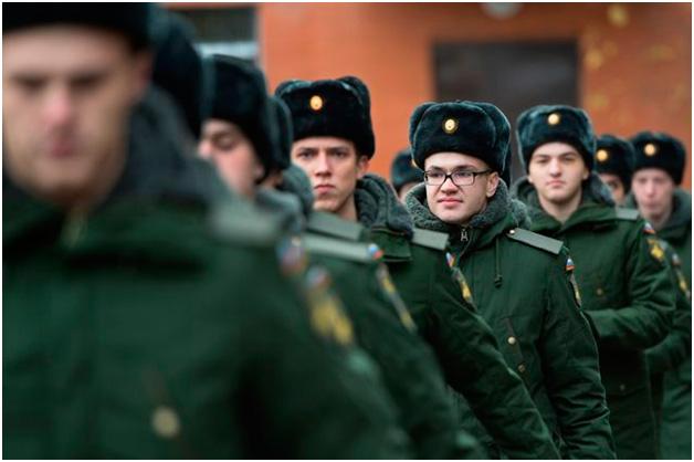 Военнослужащие Вооруженных Сил РФ.