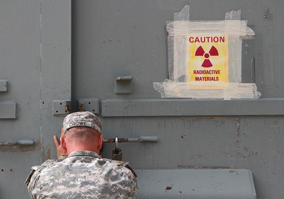 Военная база в Техасе, где хранится американское ядерное оружие.