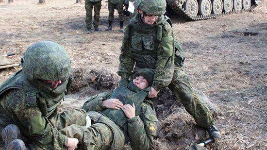 Военно-медицинская эстафета