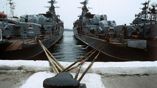 Военно-морская база Черноморского флота. Сторожевые корабли