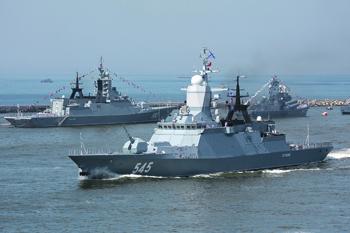 Военное кораблестроение аккумулирует достижения практически всех отраслей промышленности. Фото с сайта Министерства обороны РФ