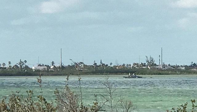 Cамолет ВМС США разбился около военно-морской станции Ки-Уэст у побережья Флорида-Кис. 14 марта 2018.
