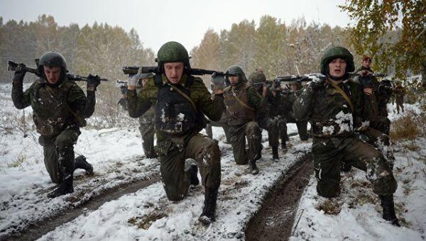Военнослужащие Росгвардии