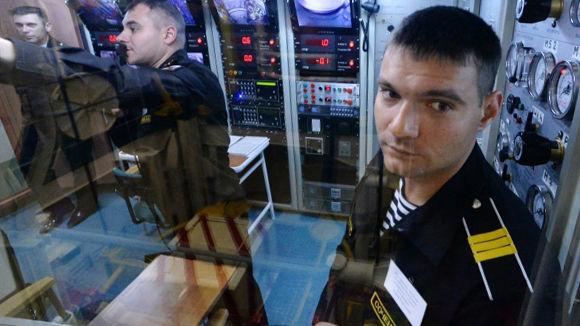 Военнослужащие ВМС РФ