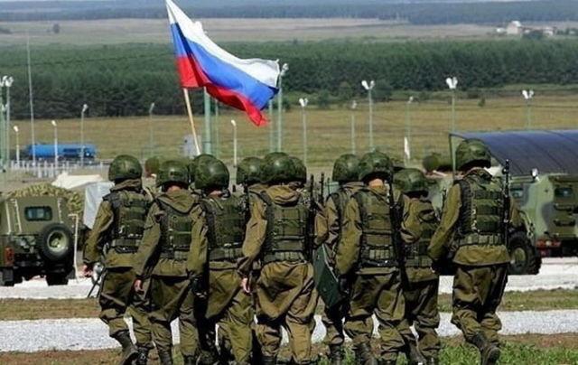 Военнослужащие ВС РФ
