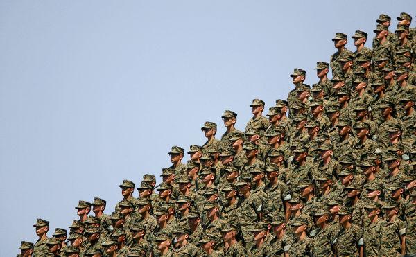 Военнослужащие ВС США