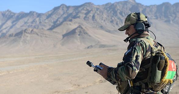 Военнослужащий ВС Афганистана