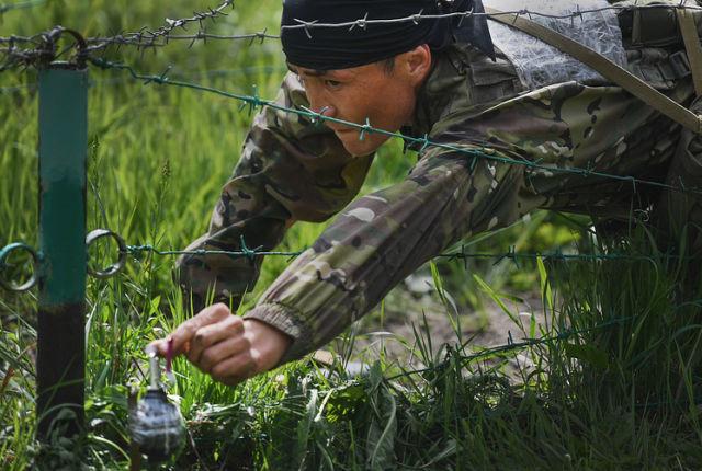Военнослужащий ВС Казахстана