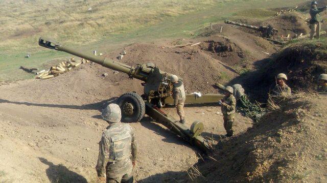 Военнослужащие армии обороны Арцаха