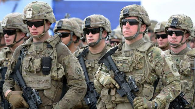 Военнослужащие подразделения cухопутных войск США
