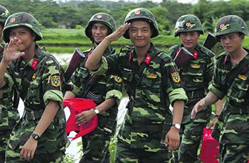Военнослужащие Вооруженных сил Вьетнама. Фото Reuters