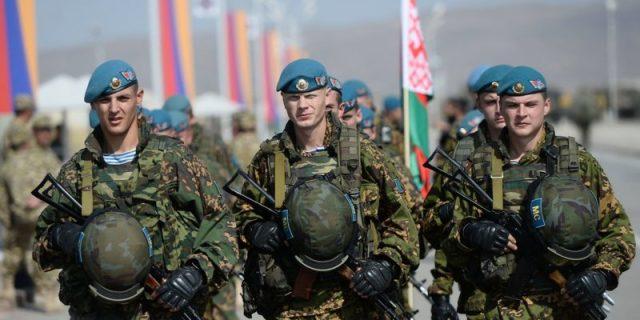 Военнослужащие ВС Беларуси