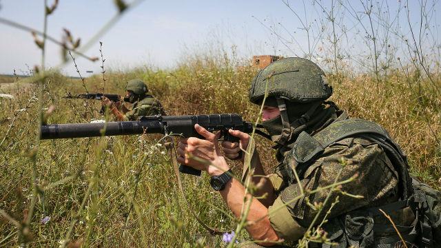 Военнослужащие Южного военного округа