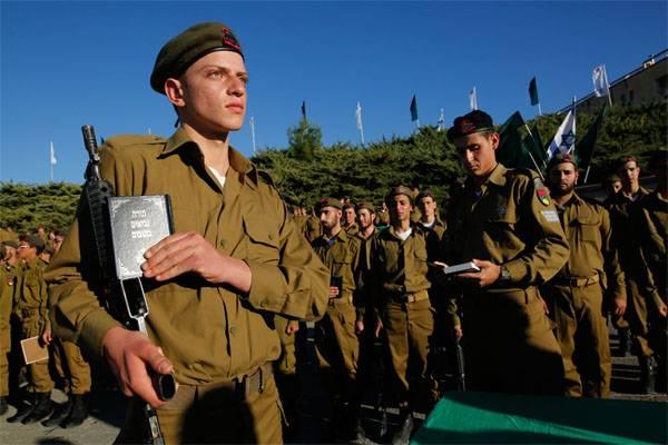 Военнослужащие армии Израиля.
