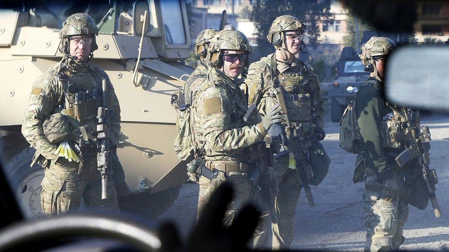 Военнослужащие армии США в Мосуле, Ирак.